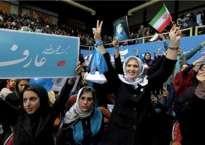 नयाँ संसदका लागि ईरानी नागरीकहरु मतदान गर्दै