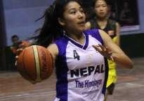 प्रथम दक्षिण एसियाली महिला बास्केटबल च्यामिपयनसीपको उपाधिका लागि नेपाल र श्रीलंका भिड्दै